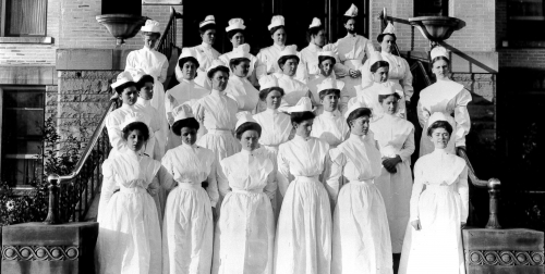 Early LDS Hospital Nurses